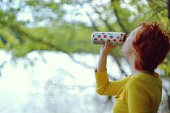(k-a-tielady) Tags: arizona lake water girl 50mm fishing tea 14