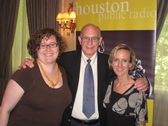 me and Amy with Carl Kasell