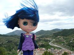 it's a bit windy up here!