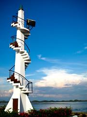 Hundred Islands Lighthouse (ryester) Tags: lighthouse canon islands ryan philippines powershot hundred beaches pangasinan alaminos hundredislands pantalan g10 ryester gabitan