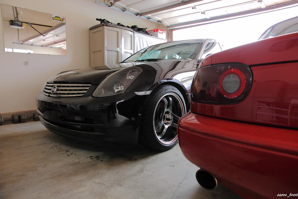 my babies....>G35 & Miata