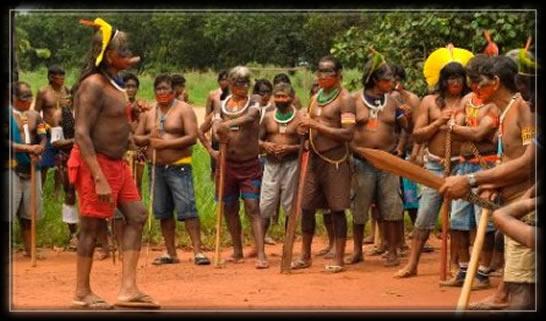 Raoni Chef de la Tribu des Kayapos