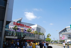 Staples Center (theo0023) Tags: california la losangeles magic landmarks downtownla arenas lakers attractions kobebryant magicjohnsonstatue nbaarenas basketballarenas