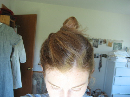 top-knot.