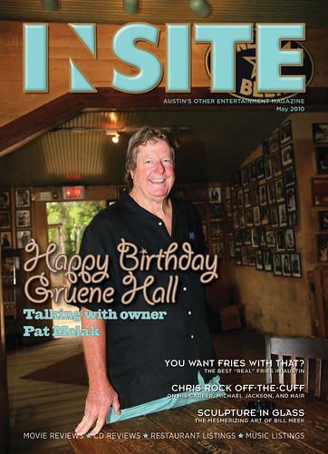 April 2010 - Cover: Gruene Hall