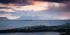 """Sunset near Eigg and Rum II • <a style=""""font-size:0.8em;"""" href=""""http://www.flickr.com/photos/26440756@N06/4587182405/"""" target=""""_blank"""">View on Flickr</a>"""