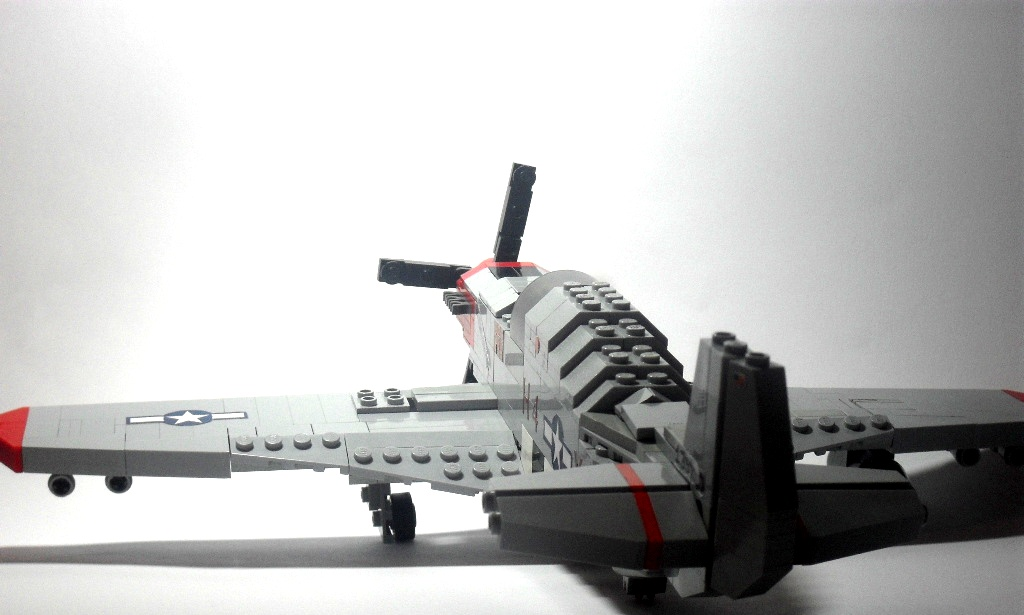 P-51-B-5 3/4 shot