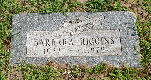 barbara jane higgins  1922 1975  grand rapids  michigan