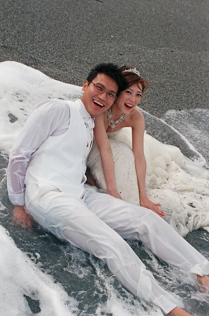 底片拍婚紗初體驗