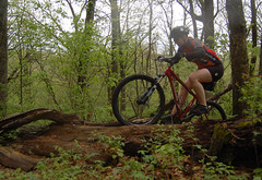 mud mountainbike dirt biking eauclaire logpile singletrack countypark lowescreek