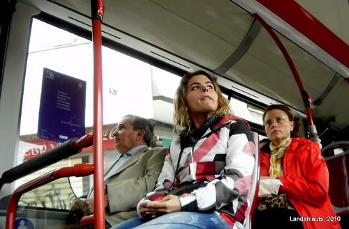 Poesía en el bus