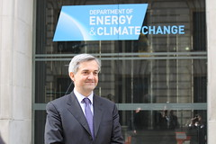 Chris Huhne, Secretary of State for Energy & Climate Change