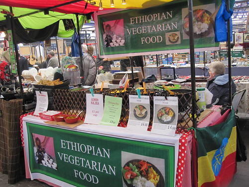 Ethiopian Vegetarian Food Cart