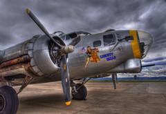 Liberty Belle B-17 Flying Fortress (Thad Roan - Bridgepix) Tags: chicago news clouds airplane photo colorado crash aircraft military denver b17 worldwarii b