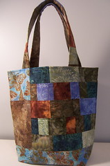Rectangles Tote