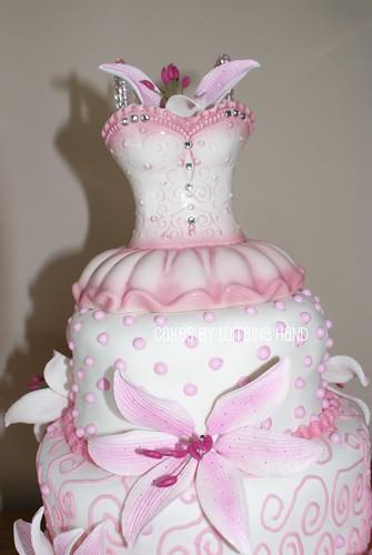 Lindsay's  Sweet 16 - Cake Topper
