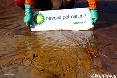 Brought to You By BP (Greenpeace USA 2013) Tags: ocean venice usa beach louisiana horizon platform greenpeace well disaster oil british bp petroleum horsman deepwater