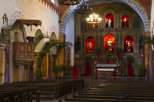 Mission San Juan Bautista interior
