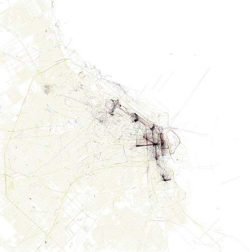 The Geotaggers' World Atlas #42: Buenos Aires (by Eric Fischer)