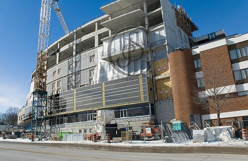 Orillia Soldier's Memorial  Hospital Construction