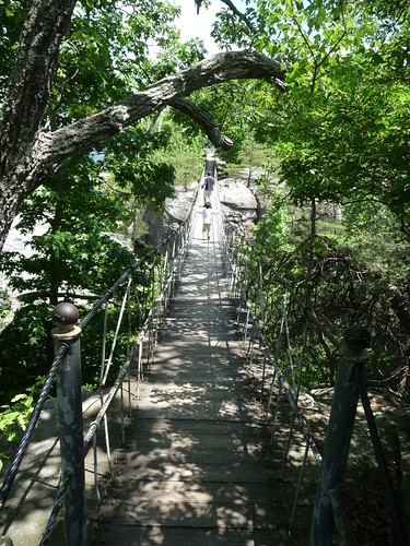 swing bridge.