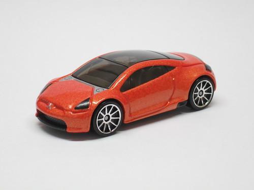 Mitsubishi Eclipse Concept Car Hot Wheels Redline Derby Racing