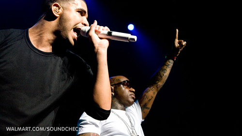 Drake Live at Walmart Soundcheck by Lunchbox LP, on Flickr