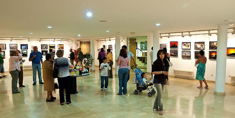 Detalle de la Exposición el Factor Humano en Santoña