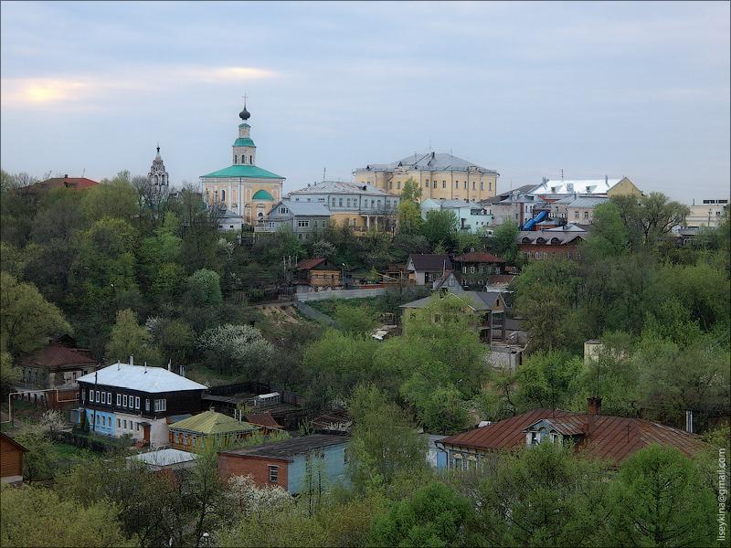 Вид на Геогргиевский собор. Владимир