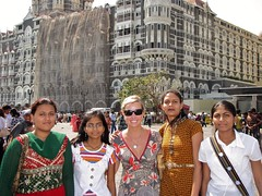 Ashley Is A Celebrity with Taj Mahal Hotel