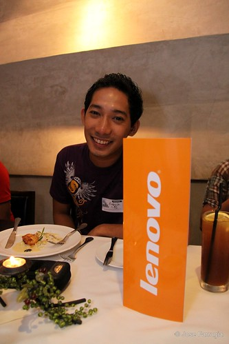 Rabsin at Lenovo's Product Launching