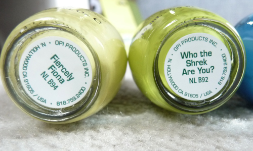OPI Shrek Forever After Collection