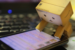 #3/365: bid.. outbid.. bid... (tinybeans) Tags: cute toy toys internet kawaii danbo onlineshopping outbid danboard amazoncomjp bidebay