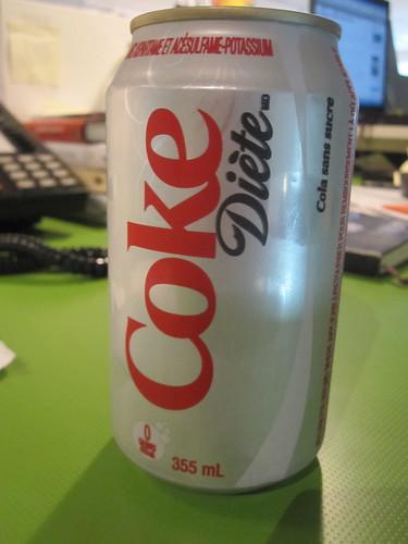 Diet coke - $1.25