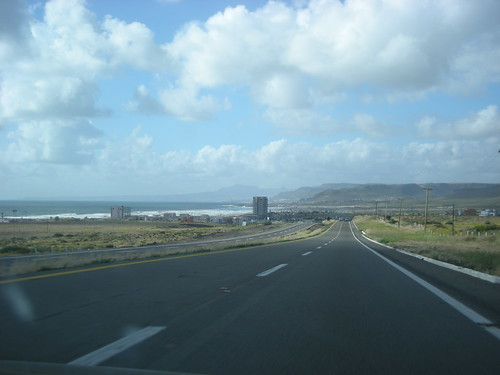 Highway 1D in Mexico