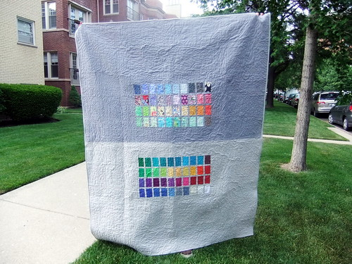 Paintbox quilt back