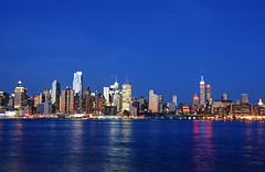 HBM ~ Memorial Day Edition (Wils 888) Tags: nyc newyorkcity longexposure blue red usa white newyork night lens landscape memorial day nightshot zoom manhattan midtown empirestatebuilding nikkor 18200 memorialday nikor mywinners d300s nikond300s