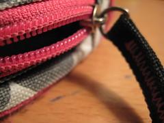 it's 3 am (raindropsonroses1619) Tags: wood pink 3 am desk glue think polka dot calculator zipper