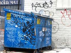 Blotter Mikoer Chelo Notik Zukoe K4P (236ism) Tags: trash graffiti los angeles bin karl dfw chelo blotter zukoe k4p notik mikoer