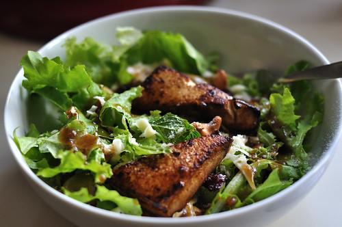 Fried Tofu and Everything Salad