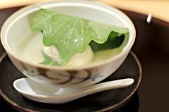 Mochi in yuzu soup?, Tatsuya, Goodwood Hotel