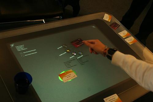 Microsoft Surface at IT-galla 2010