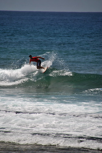 Montando la ola