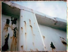 Polaroid Super Shooter / Butler Center USA (Michael Raso - Film Photography Podcast) Tags: newjersey butler newjerseyusa polaroid1975polaroidsupershooterfujifilmfp100cbutlercenterbutler