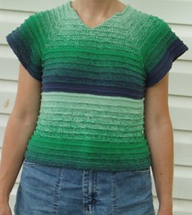 013 Jeansy Green Top