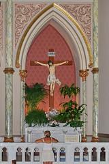 The Crucifix (cliff1066) Tags: art church parish ga georgia religious catholic cross cathedral roman religion icon stjohn crucifix savannah mass congregation iconography romancatholic christo jesuschrist saintjohnthebaptist stjohnthebaptist jesuschristo cathedralofsaintjohnthebaptist
