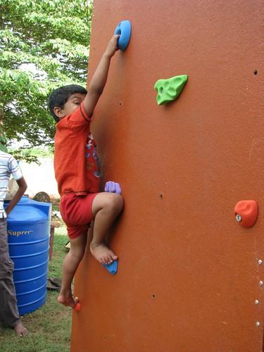 Mobile Climbing Wall 3