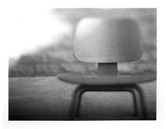 Eames LCW. (eamesboy. Busy..) Tags: speed polaroid fuji graphic eames expired f25 graflex packfilm lcw aeroektar fp100b 178mm