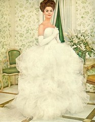 White (sugarpie honeybunch) Tags: white magazine advertising 60s ad 1960s gown seventeen