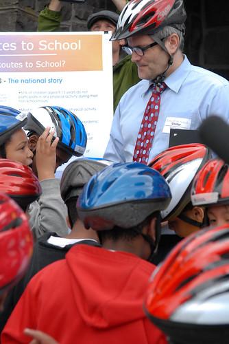 Mayor Adams at Safe Routes to School ride-15